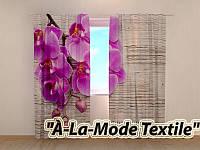 """Фотошторы """"Орхидея и дерево №2""""  250*280"""