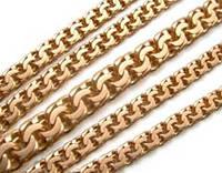 Золотая цепь Бисмарк для женщин