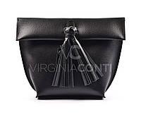 Женская черная компактная сумочка