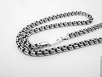 Серебряная цепь Бисмарк для мужчин
