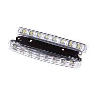 Светодиодные дневные ходовые огни Brille 2,88W 12V LED DRL11 холодный свет
