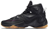 Баскетбольные кроссовки Nike Lebron 13 (найк леброн) черные