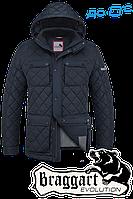 Мужская качественная куртка демисезон Braggart  1288C