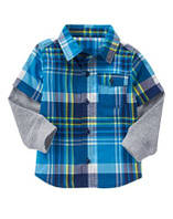 Рубашка с двойным рукавом 2т