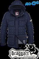 Брендовая мужская куртка демисезон Braggart 1289A
