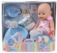 Пупс Baby Born с музыкальным горшком