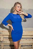 Стильное элегантное платье ярких расцветок, фото 1