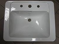 Умывальник накладной  керамический 460 x 575