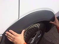 Накладки на колесные арки Крафтер (Volkswagen Crafter), ABS- пластик
