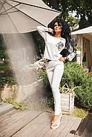 Костюм женский модный.Ткань- двунить(трикотаж) размер - 42-44,44-46 цвет - чёрный,белый,мята.DP 98
