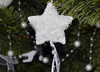 Новогодние украшения  Подвеска звезда  или елочка  0269