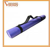 Коврик для йоги / йога-мат для начинающих (1,73 м х 0,61 м х 4 мм)