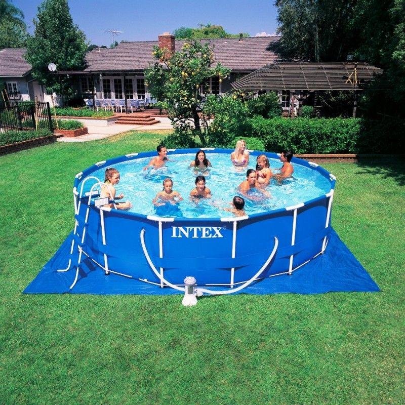 Metal Frame Swimming Pool  eBay