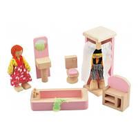 Набор мебели для кукол - Ванная Комната