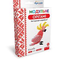 Модульное оригами Какаду