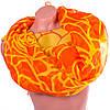 Удобный женский шарф из полиэстера 153 на 103 см BAOSIDI (БАОСИДИ) DS906-251-2 оранжевый