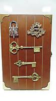 Ключница настенная  деревянная «Хранитель ключей» размер 30*20*5