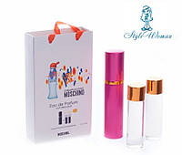 Подарочный набор парфюмерии Moschino I Love Love мини духи мачино лав лав 3*15мл