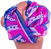 Замечательный женский шарф из полиестера 153 на 104 см BAOSIDI (БАОСИДИ) DS906-257-1 розовый