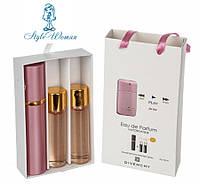 Подарочный набор парфюмерии Givenchy Play for Her Живанши Плей Фо Хе с феромонами 3*15мл мини духи