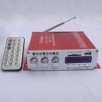 Усилитель звука +  ПУЛЬТ FM USB SD HY-2006