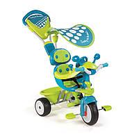 """Транспорт для детей «Smoby» (434105) трёхколёсный металлический велосипед """"Baby Driver Confort Sport"""""""