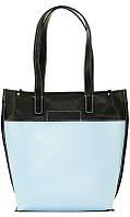 Необычная женская сумка голубого цвета 35х35х12 VATTO Wk35 Kaz1FL8Sp5
