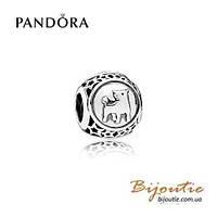 Pandora Шарм Знаки Зодиака ТЕЛЕЦ №791937 серебро 925 Пандора оригинал