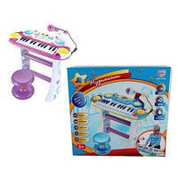 Пианино-синтезатор детское со стульчиком Limo Toy 7235