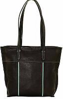 Великолепная женская сумка на каждый день, кожаная 34х33х10 VATTO Wk38 FL8Sp310 черный