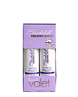 Дорожный набор (шампунь корректирующий + кондиционер по 90 мл) Keratin Complex Blondeshell