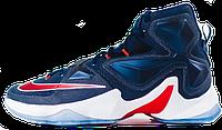 Баскетбольные кроссовки Nike Lebron 13 (найк леброн) синие
