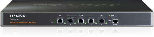Маршрутизатор TP-Link TL-ER5120_грн 10/100/1000 Мбит с балансировкой нагрузки