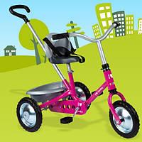 Металлический велосипед Zooky розовый Smoby 454016