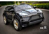 Детский электромобиль Porsche Cayenne FT 2128 черный(п)