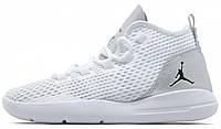 Баскетбольные кроссовки Nike Air Jordan (найк аир джордан) белые