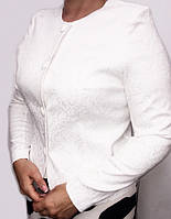 Нарядный женский пиджак с длинным рукавом