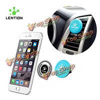 Lention магнитного телефон автомобиля мобильного монтажа 360° вращение люльки держатели для iPhone Xiaomi смартфоны универсальный