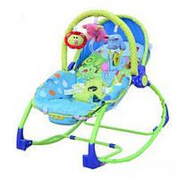Кресло-качалка для детей - слоник  от 0 месяцев до 18кг.