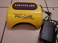УФ лампа 48 Вт ГИБРИД CCFL+LED наращивания ногтей и покрытия гель лака