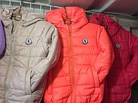 Куртка детская осень -весна однотонная Fashion