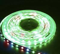 Светодиодная лента LS607/SANAN LED-RL 60SMD(5050)/m 14,4W/m 12V 5m*10*0.22mm RGB на белом IP65, Feron