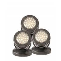 Светодиодный светильники для пруда 3х1,5 Вт. Pondostar