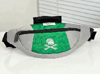 Сумка на пояс Adidas Originals (зеленая)