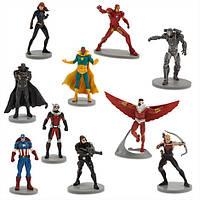"""Игровой набор с фигурками Марвел Мстители """"Первый мститель: Противостояние"""" Captain America: Civil War Disney"""