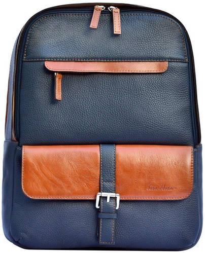 Классический мужской рюкзак на 14л. GO-AHEAD MAN Issa Hara BР2 (13-33-04), синий