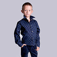 Стильная рубашка для мальчика ев02