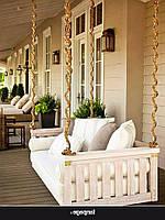 Садовые качели купить в Wood Luxury