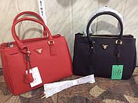 Сумка Prada прада красная черная брендовая качество 2274