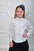 Стильная школьная блуза для девочки